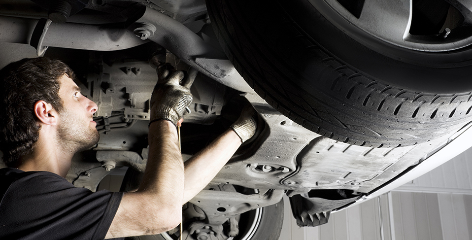 Mechanic fixing a vehicle - Car Repairs Christchurch